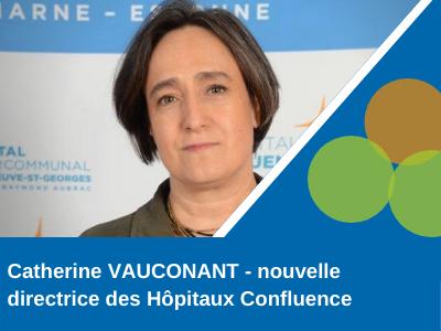 illustration Catherine VAUCONANT – nouvelle directrice des Hôpitaux Confluence