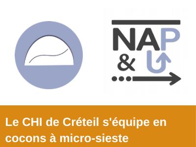illustration Le CHI de Créteil s'équipe en cocons à micro-sieste Nap&Up